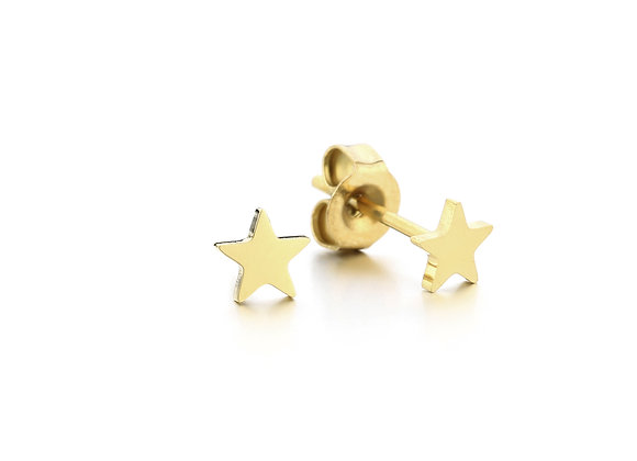 Earring Bud- Gold Star