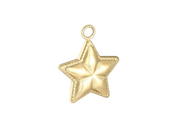 Charm- Star Gold