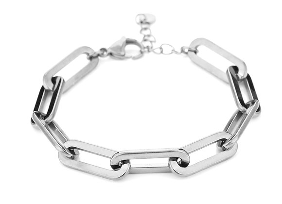 Bracelet- Chunky Chain Silver