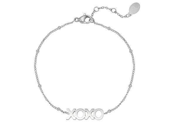 Bracelet- XOXO Silver