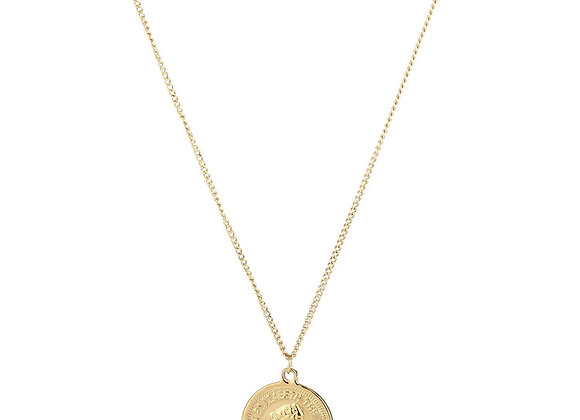 Necklace- Gold Coin