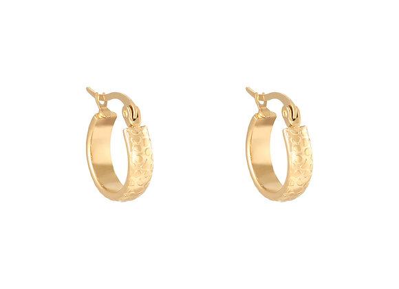 Earring- Leopard Gold