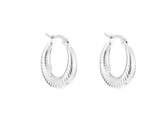 Earring- Elegance Silver