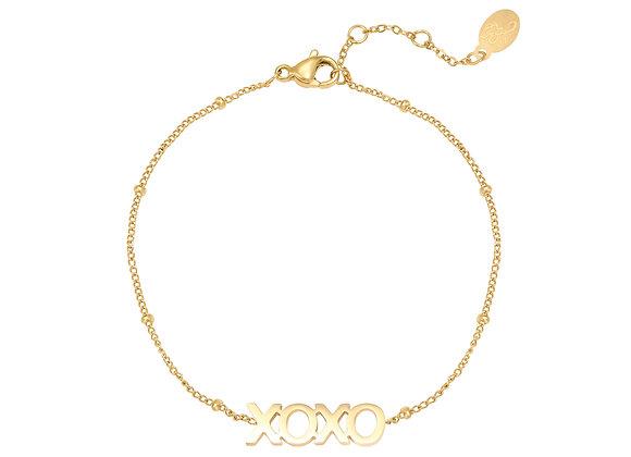 Bracelet-XOXO Gold