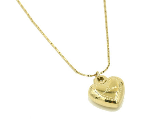 Necklace- Gold Heart
