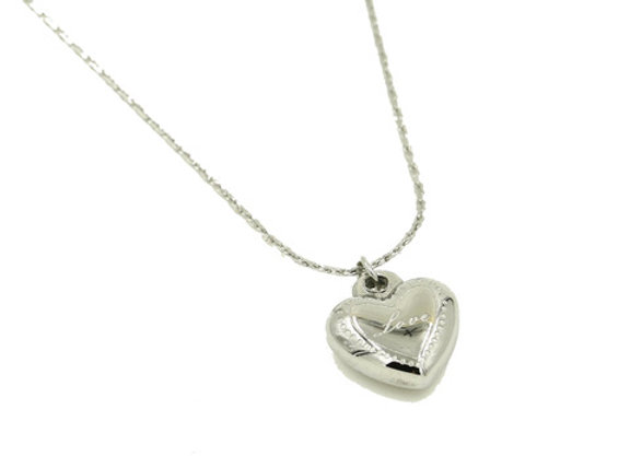 Necklace- Silver Heart