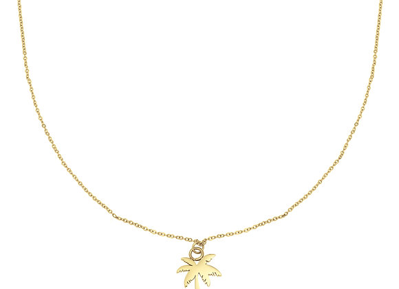 Necklace- Gold Palmtree