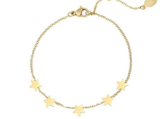 Bracelet- Gold Stars