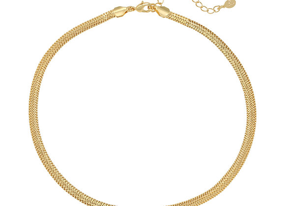 Necklace- Snaky Gold