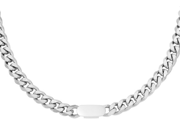 Necklace- Big Chain Silver