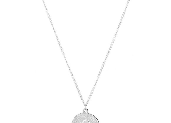 Necklace- Silver Coin