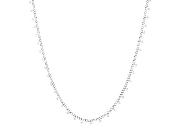 Necklace- Silver Morning Stars