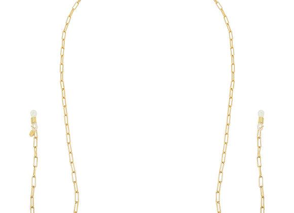 Sunglasses Cord- Gold Chain
