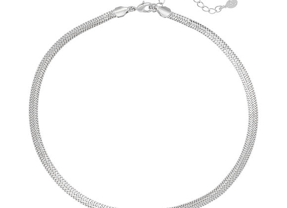 Necklace- Snaky Silver