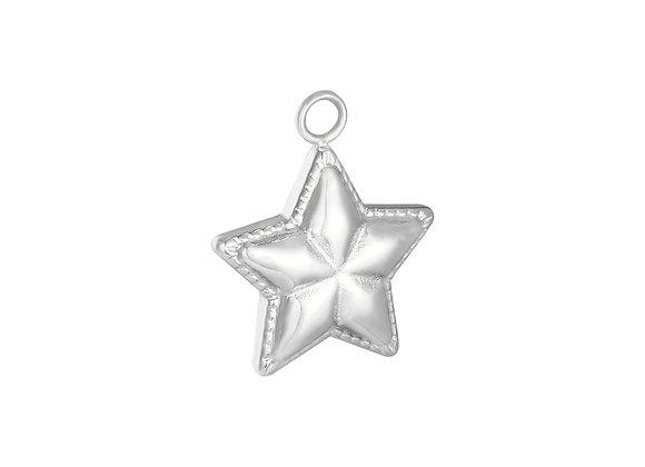 Charm- Star Silver