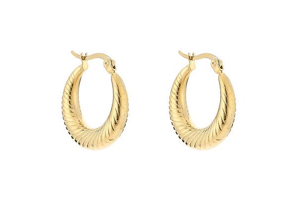 Earrings- Elegance Gold