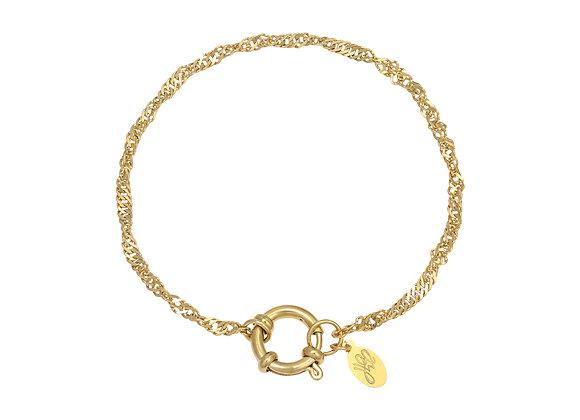 Bracelet- Twisted Gold