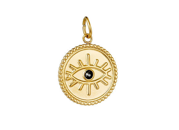 Charm- The Eye Gold