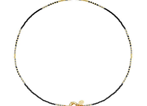 Necklace- Delicate Black