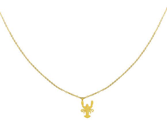 Necklace- Gold Lobster