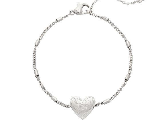 Bracelet- Silver Love to travel
