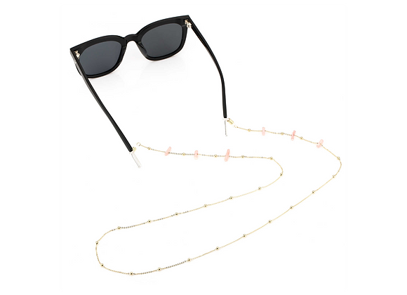 Sunglasses Cord- Pink marble
