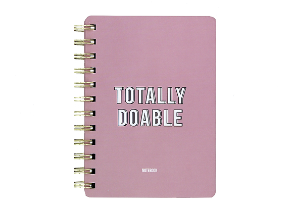 Notebook- Totally Doable