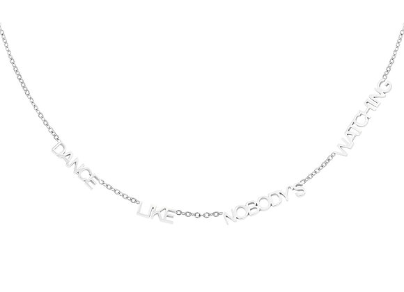 Necklace- Dance Silver