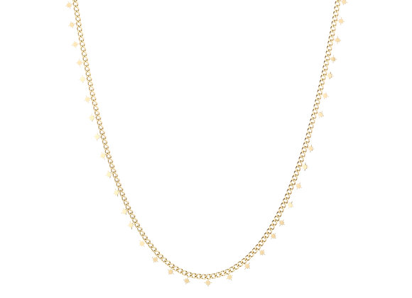Necklace- Gold Morning Stars
