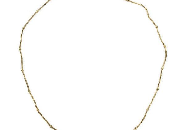 Necklace- Golden Dots