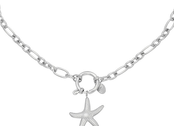 Necklace- Silver Starfish