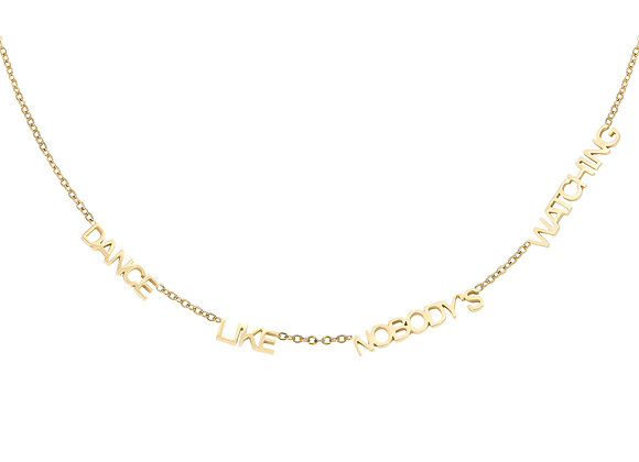 Necklace- Dance Gold