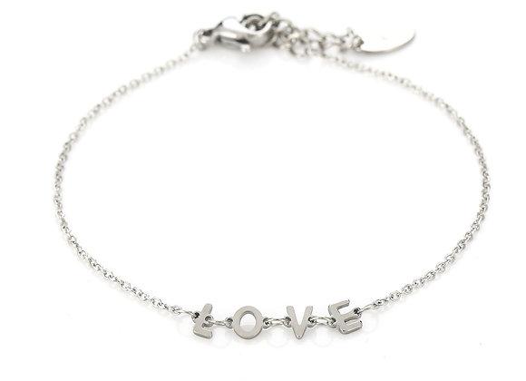 Bracelet- Silver Love
