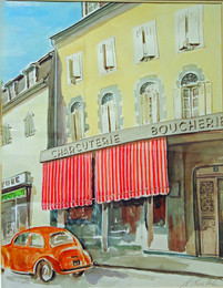 Charcuterie Boucherie, France