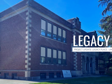 LEGACY PLACE: PROJECT UPDATE