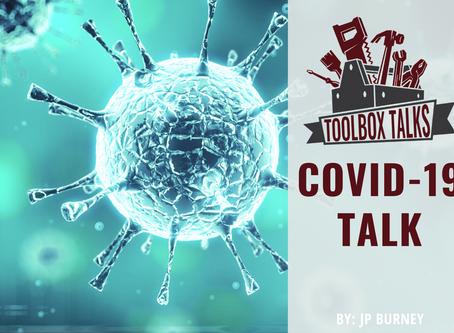 TOOLBOX TALK: COVID-19