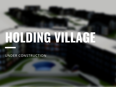 HOLDING VILLAGE: PROJECT UPDATE