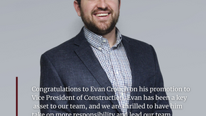 Team News: Evan's Promotion