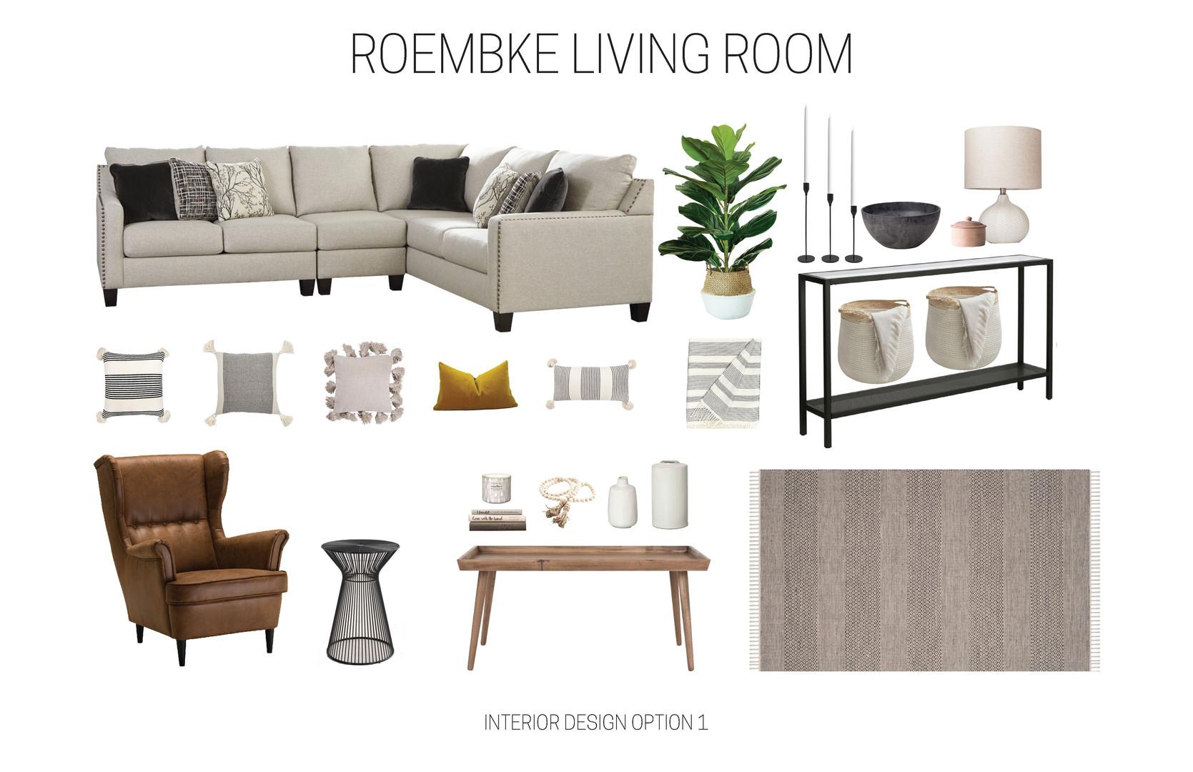 ROEMBKE LIVING ROOM REDESIGN