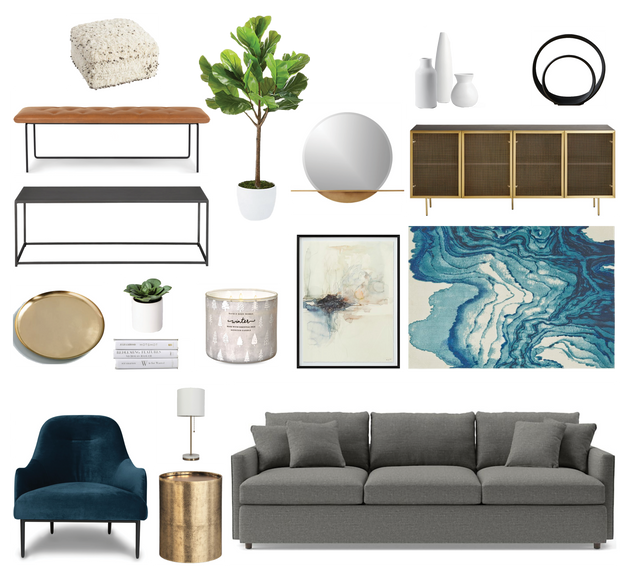 HUBBARD LIVING ROOM REDESIGN