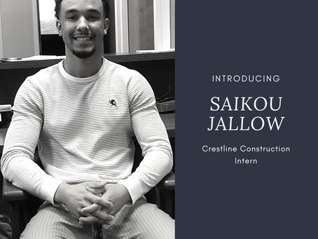 MEET THE TEAM: SAIKOU JALLOW
