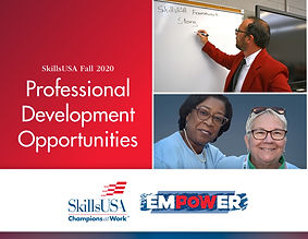 SkillsUSA 2020 Professional Development
