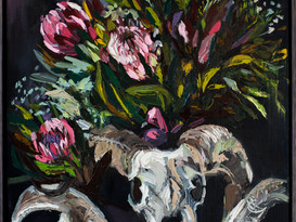 Beautiful Decay2019-SOLD-63.5x94.3cm-Oil
