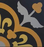 Mosaico de pasta Trébol Alitas.