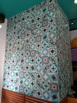 Collage de Mosaico de pasta