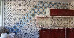 Mosaico de pasta, modelo collage