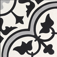 Mosaico de pasta Trébol