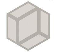Mosaico de pasta Hexagonal Tie