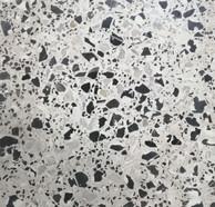 Terrazo Blanco y negro