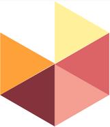 Mosaico de pasta Modelo Hexagonal Triangulos